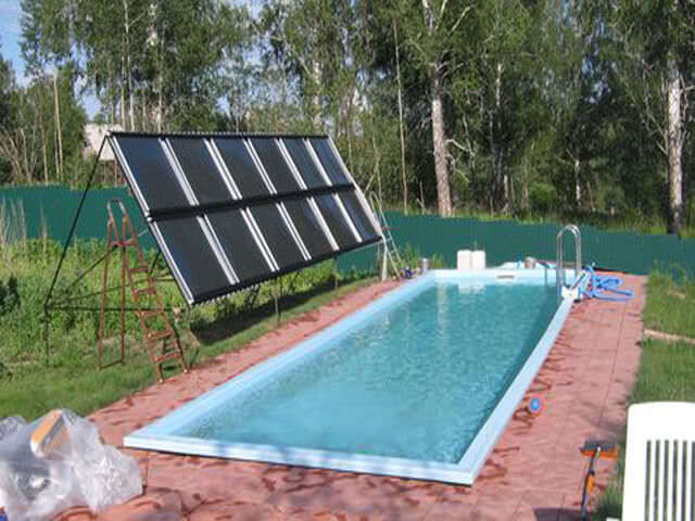 Солнечный коллектор из сотового поликарбоната своими руками