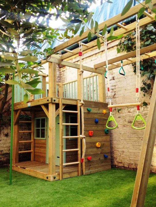 Игровая площадка для детской комнаты своими руками