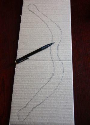 Мини лук из бумаги своими руками