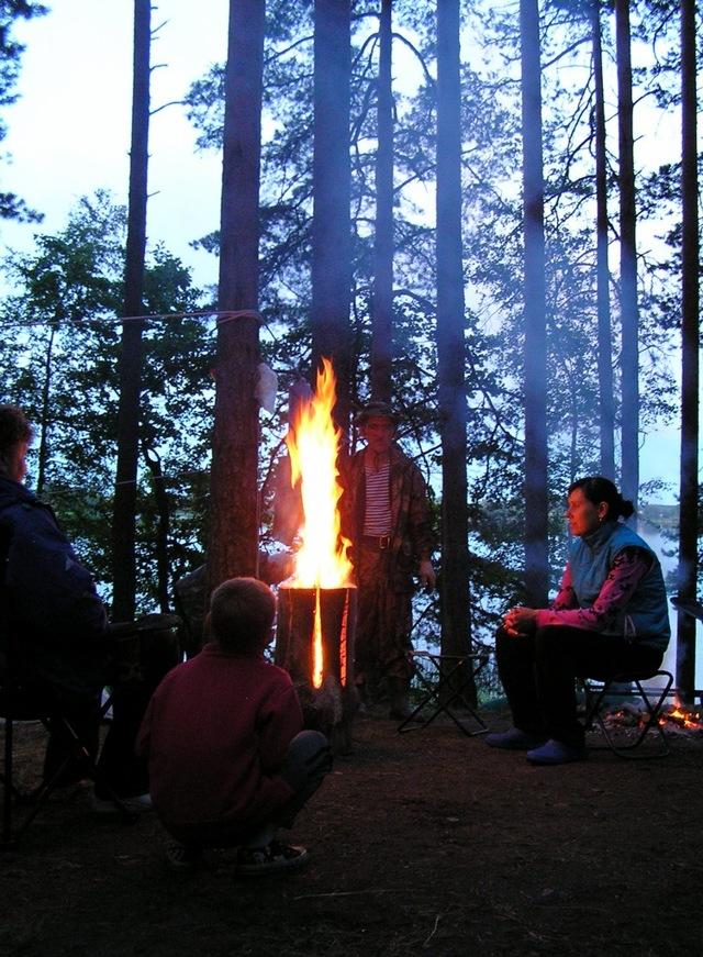 Финская свеча своими руками