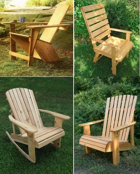 Кресло для сада своими руками