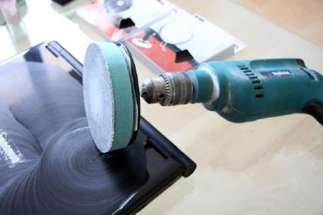 Орбитальная шлифовальная насадка для сверлильного станка своими руками