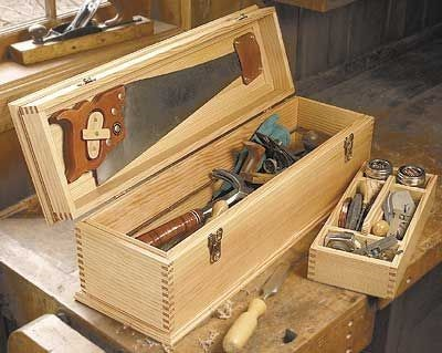 Контейнер для инструментов своими руками
