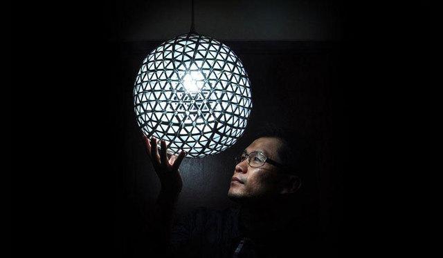 Юморной светитльник из раковины своими руками