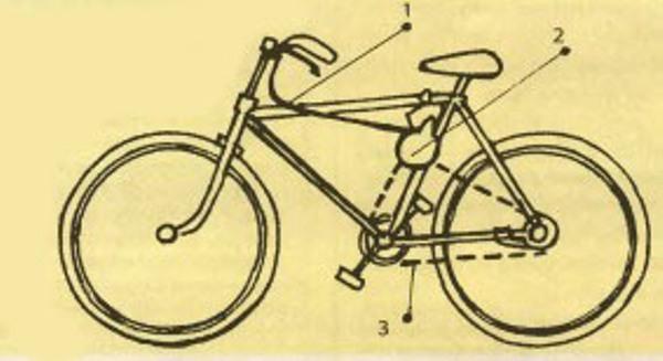 Ручная лебедка из велосипедных деталей своими руками