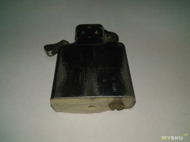 Компактный фонарик «zippo» своими руками