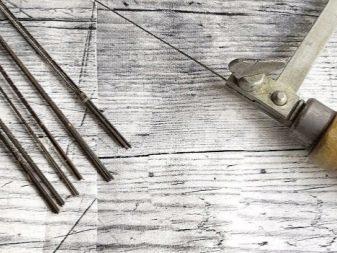 Пилка для лобзика из обломка пилы по металлу своими руками