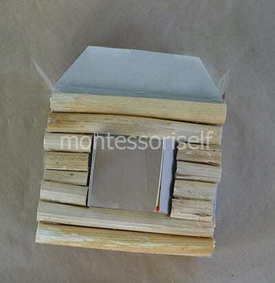 Как сделать простую игру ловушку из гофрированного картона своими руками