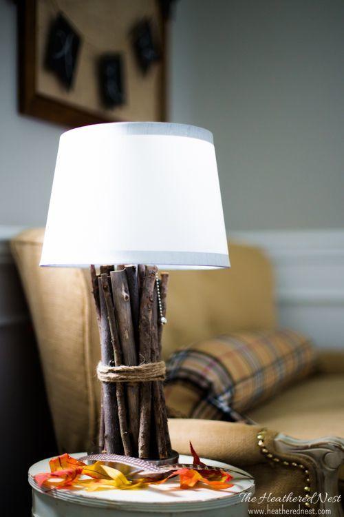 Ретро лампа своими руками