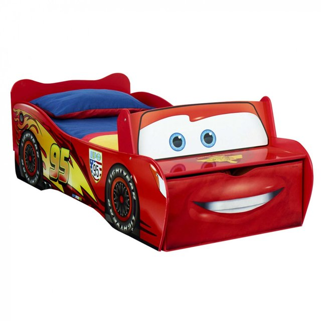 Детская кровать-тачка своими руками