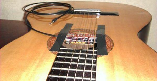 Звукосниматель для гитары своими руками