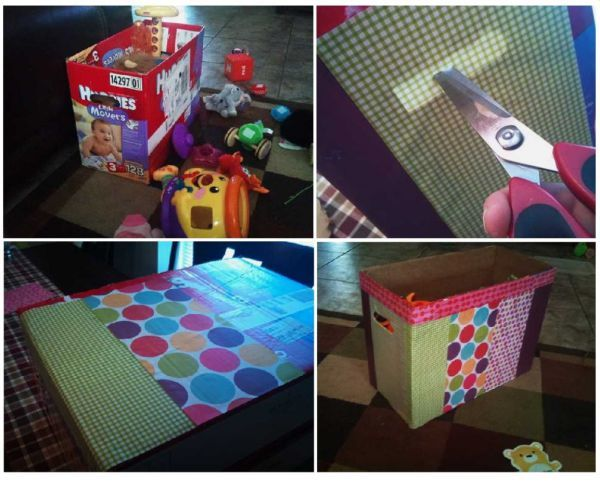 Ящик-сундук для игрушек своими руками