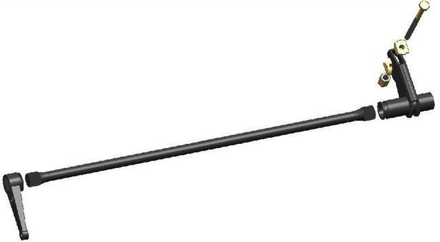 Скобель из полосы торсионной подвески своими руками