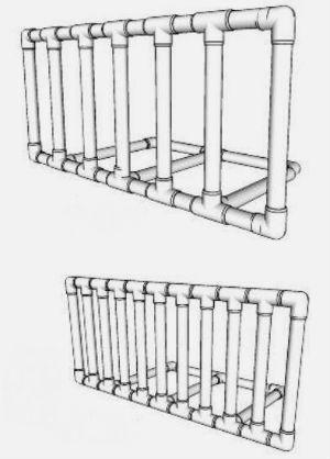 Пневматический горн из ПВХ труб своими руками