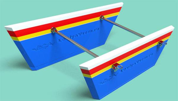 Как сделать снасть «Кораблик» своими руками