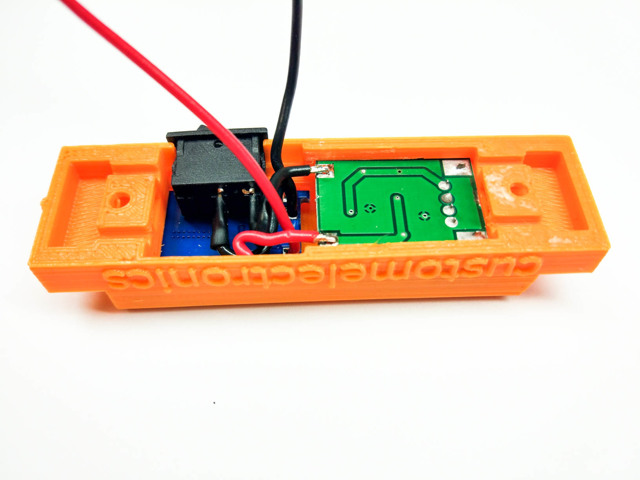 Внешний аккумулятор в красивом корпусе своими руками