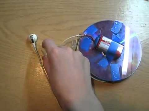 Металлоискатель из диска своими руками
