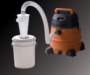 Циклонный фильтр для пылесоса своими руками
