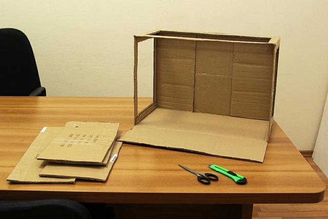 Светодиодная коробка своими руками