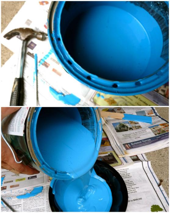 Валик с автоматической подачей краски своими руками