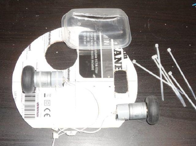 Простой робот-пылесос diy на arduino своими руками