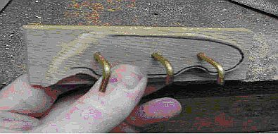 Нож необычной формы своими руками (сталь О1)