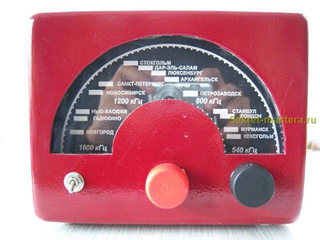 Деревянное радио своими руками