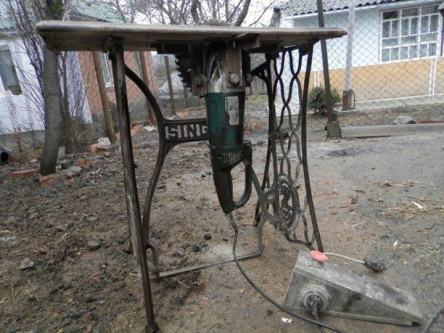Помпа из болгарки своими руками