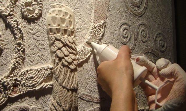 Декоративное панно своими руками
