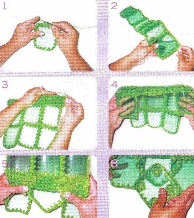 Как сделать переноску для бутылок своими руками