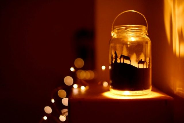 Светильник-ночник своими руками