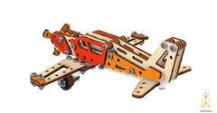 Винтовой самолет, модель своими руками