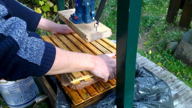 Гидравлическая соковыжималка своими руками