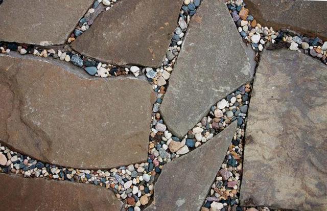 Дорожка из камня своими руками