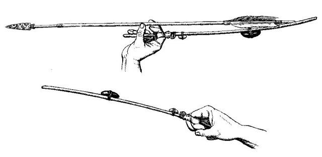 Огненные копья и приспособление для метания своими руками