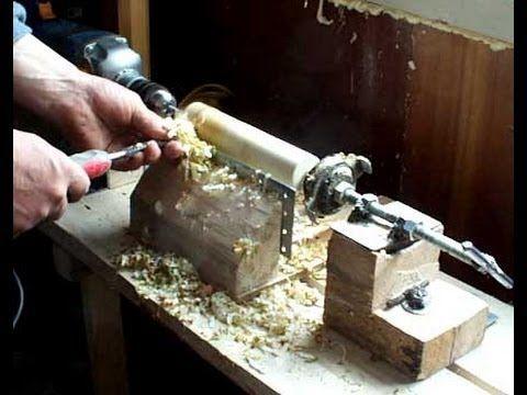 Шуруповёрт в деревянном корпусе своими руками