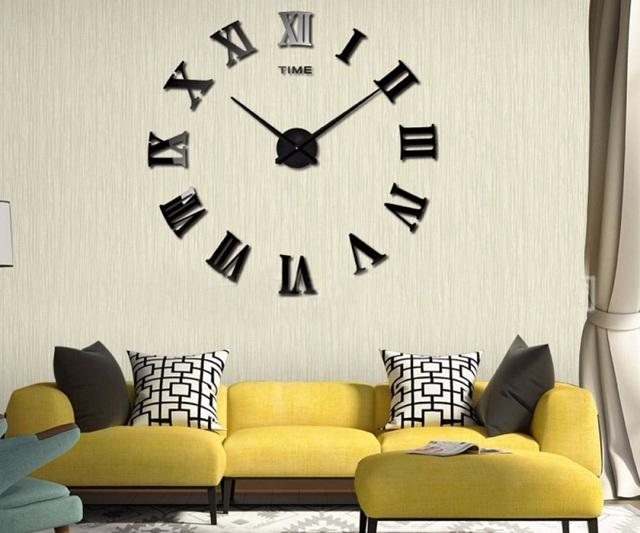 Оригинальные часы-домино своими руками