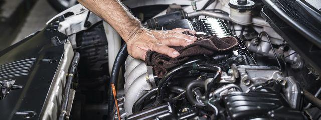 Как помыть двигатель своими руками