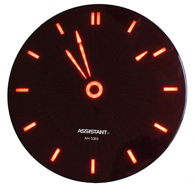 Часы со светодиодной подсветкой своими руками