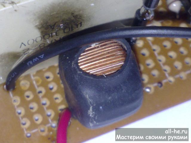 Высоковольтный трансформатор своими руками
