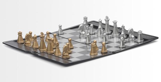 Шахматы на неомагнитах своими руками