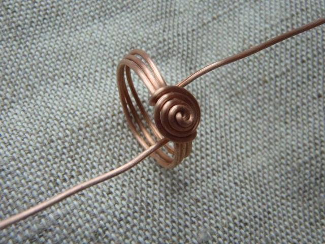 Кольца из медной трубки и древесины своими руками