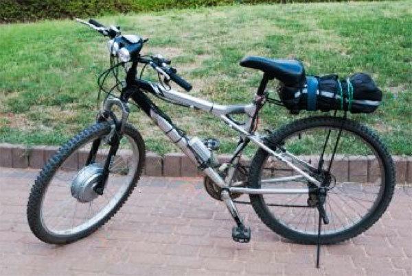 Электровелосипед своими руками