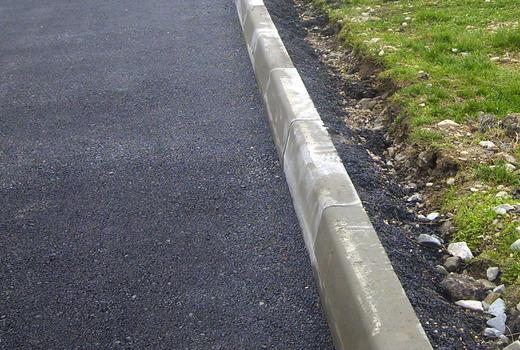 Бордюр из бетона своими руками