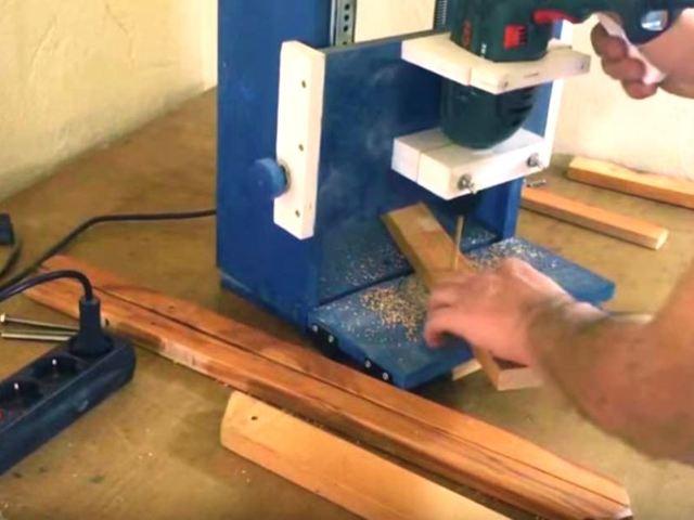 Как сделать простой лобзиковый станок своими руками