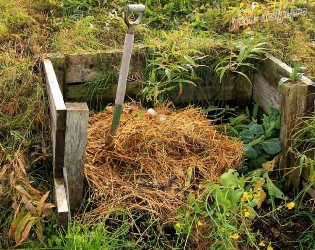 Контейнеры для компоста своими руками
