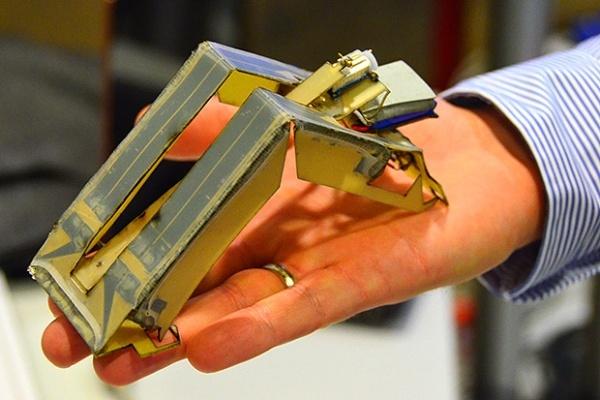 Собираем робота inchworm своими руками