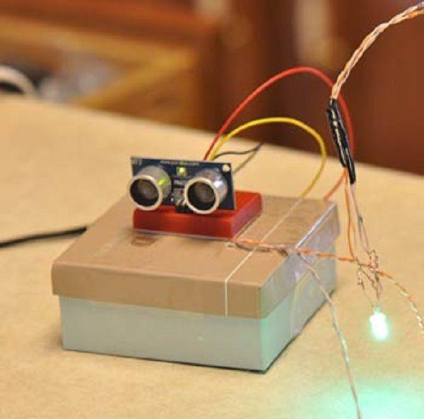 Парктроник своими руками на базе arduino