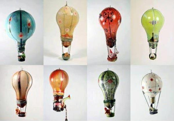 Различные поделки из лампочек своими руками