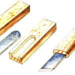 Разметочный нож с двумя резцами своими руками